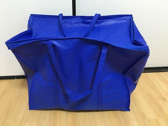 プラスキューブの集荷バッグ